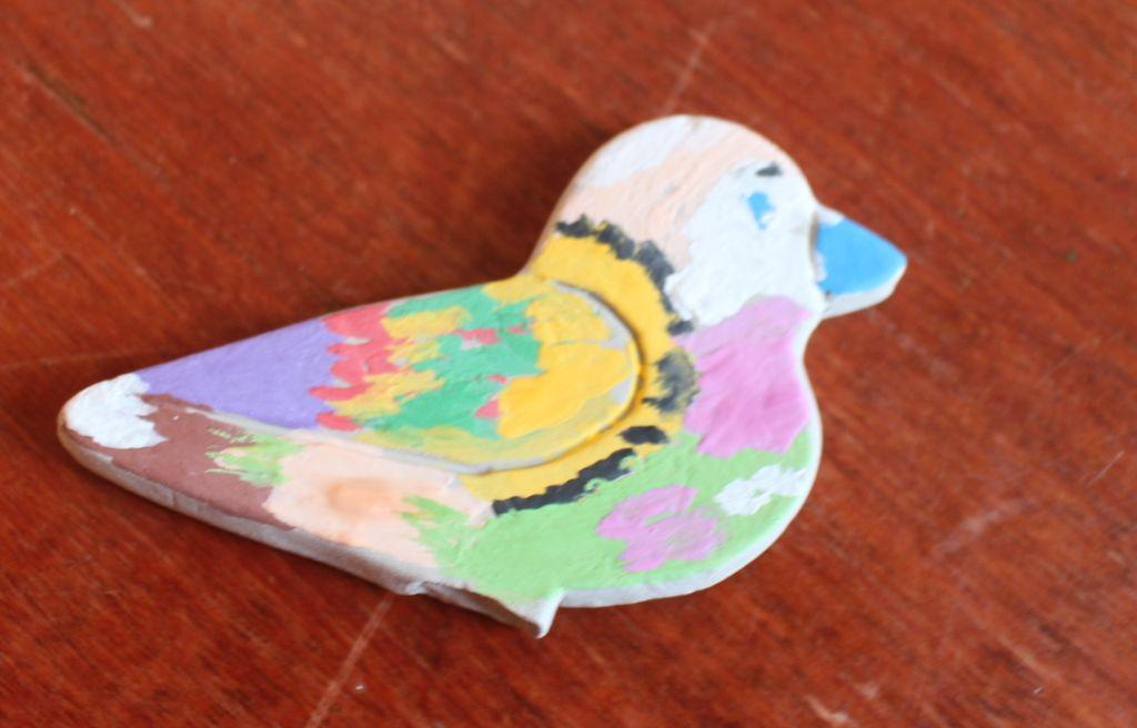 Kolorowe ptaszki.