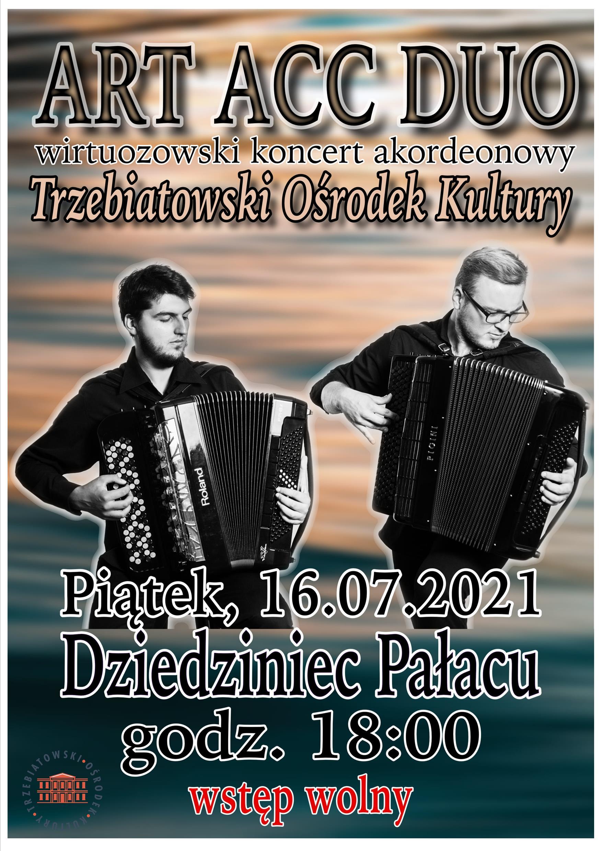 Koncert akordeonistów.