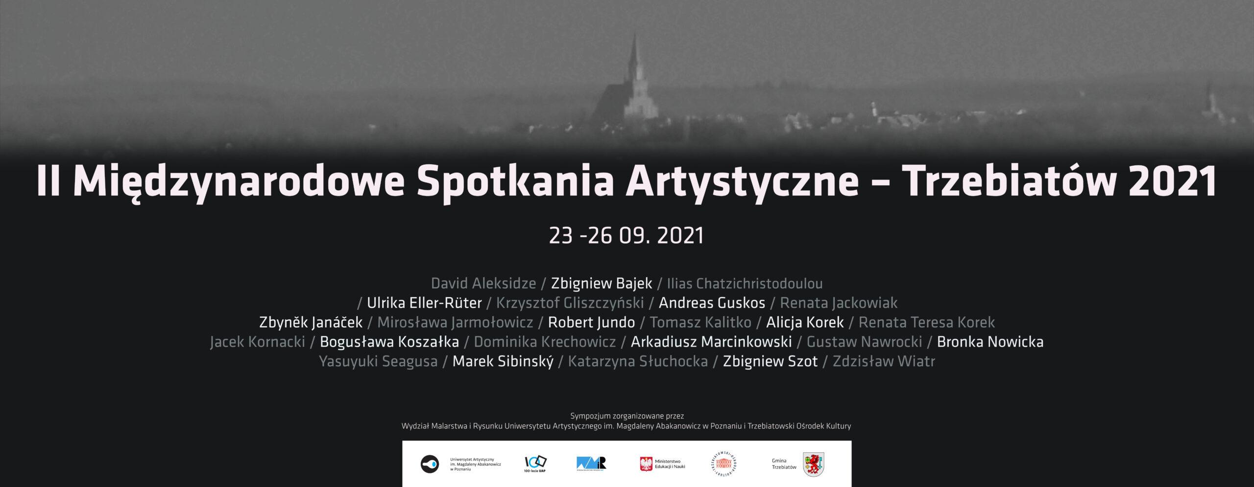 II Międzynarodowe Spotkania Artystyczne Trzebiatów 2021.